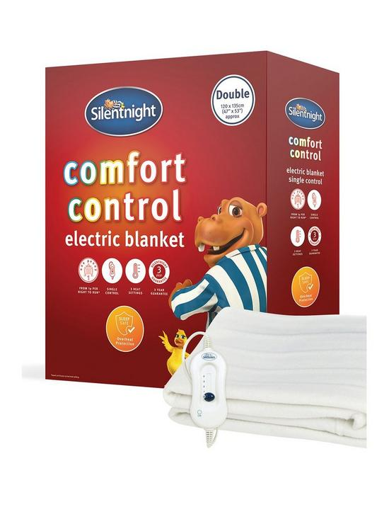 Silentnight's Comfort Control single electric blanket is £22 at very.co.uk or just £20 at amazon.co.uk
