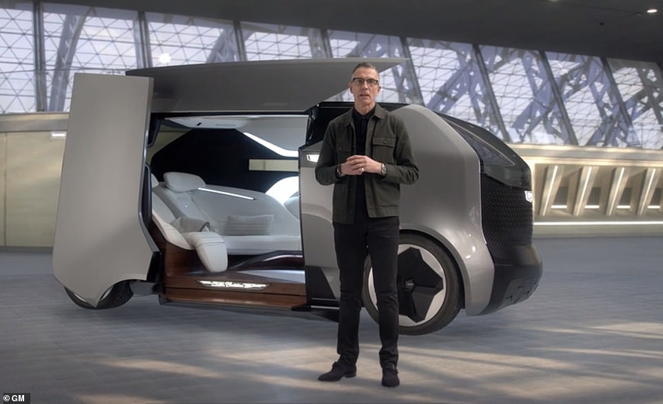 The flying Cadillac is part of GM's new motto