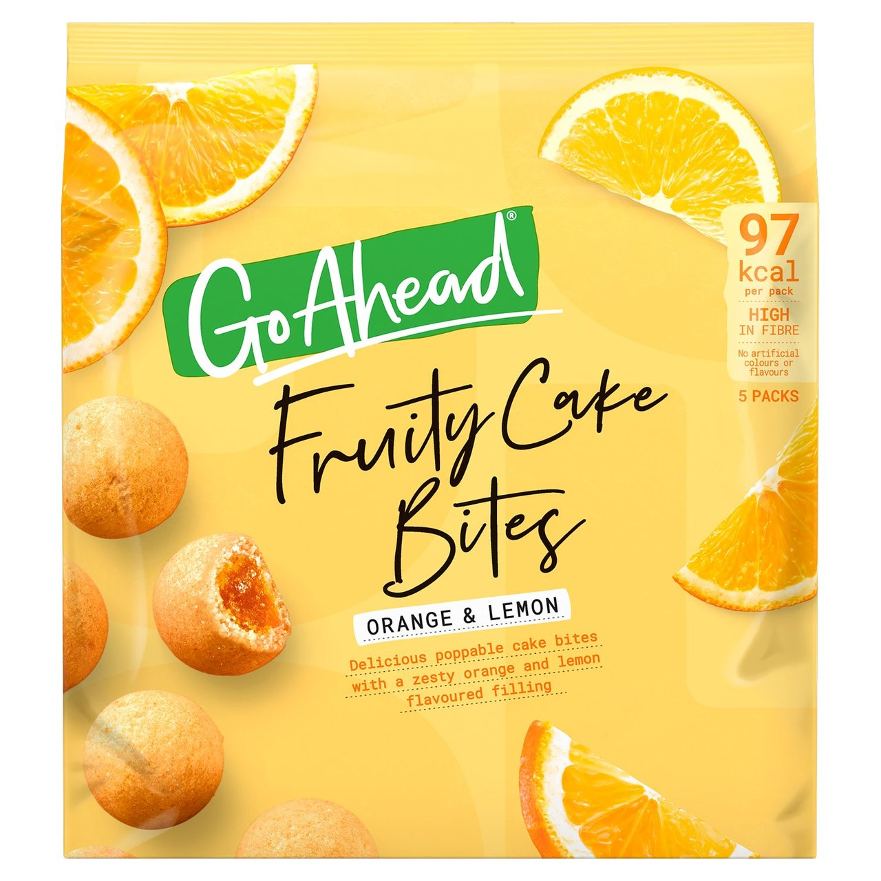 Why spend £2 for a box of five Go Ahead fruity cake bites at Morrisons, when you can get them for 75p less at Asda