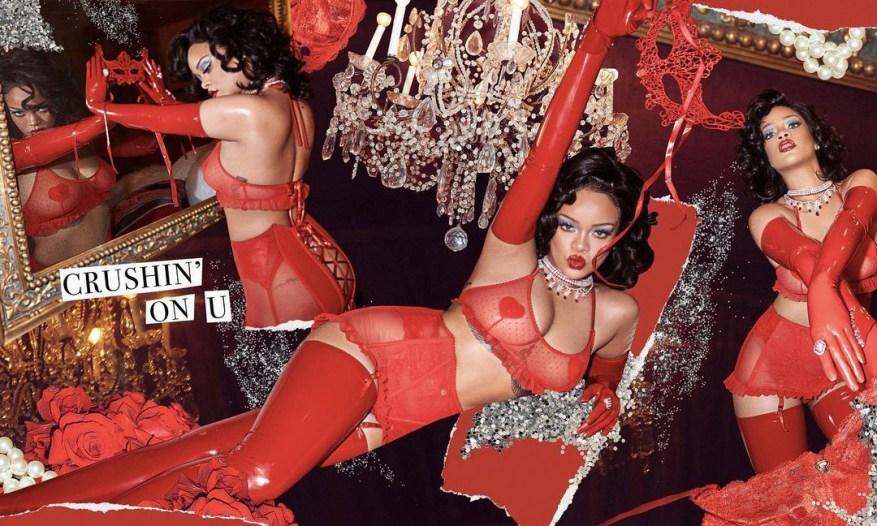 Red Hot Rihanna поразила своей последней рекламной кампанией нижнего белья