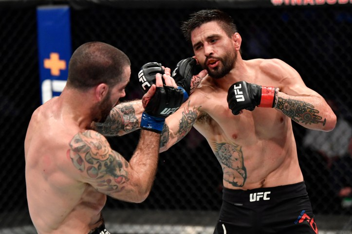 In a classic OAP tear-up, Carlos Condit out-worked Matt Brown over three rounds | Griffin vs Condit