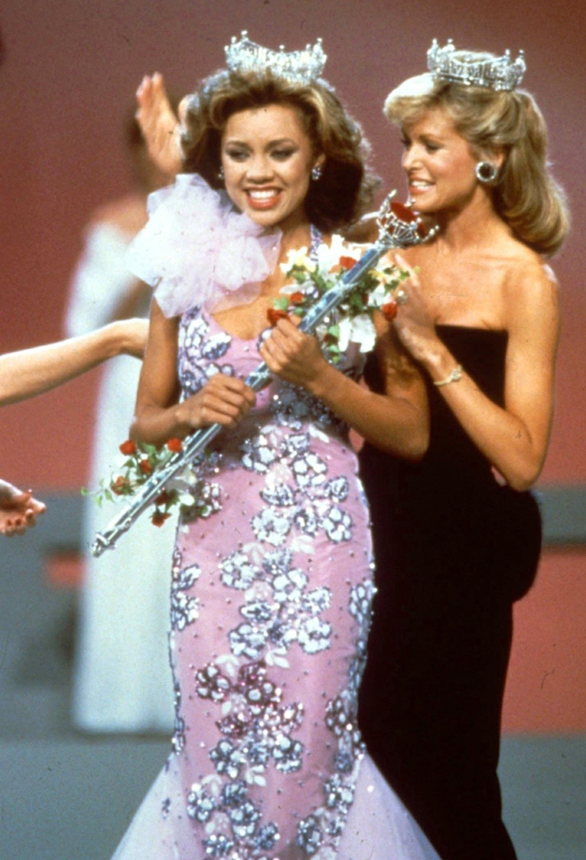Vanessa Williams became the first African American to be crowned Miss America in 1984