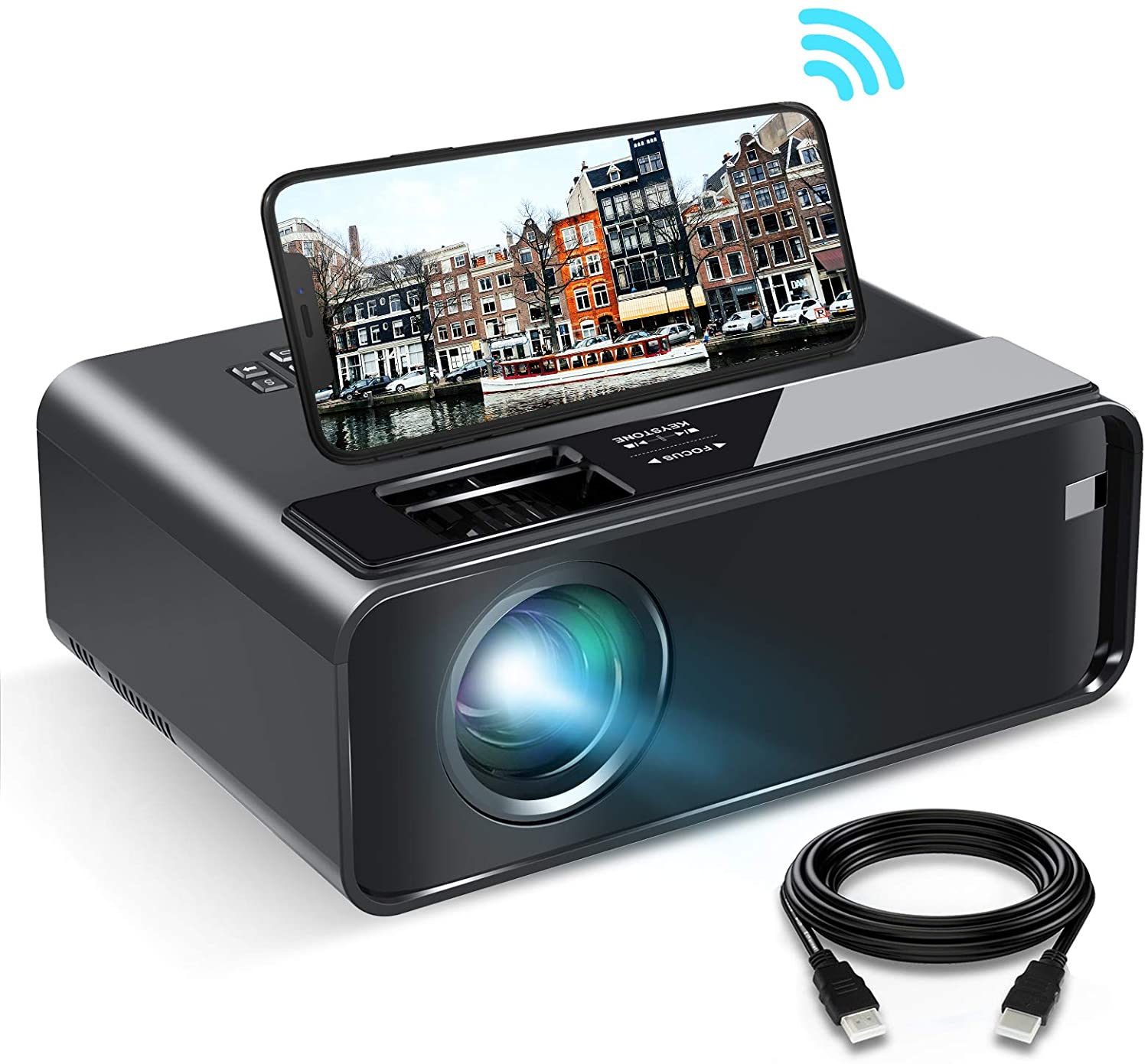 The Elephas Mini Projector features wireless support