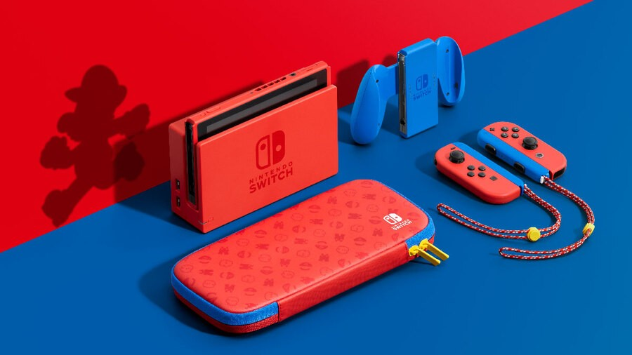 Mario now has his own Nintendo Switch Edition