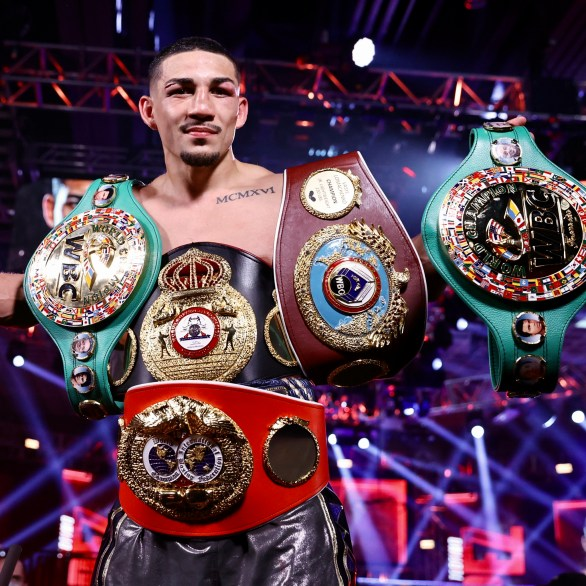 Teofimo Lopez is biggest US star since Floyd Mayweather and can become  first undisputed champ in two weights, says Arum