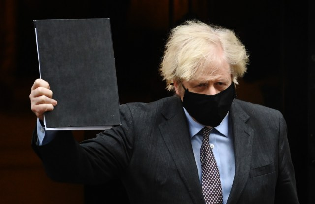 Boris Johnson announced the roadmap out of lockdown yesterday