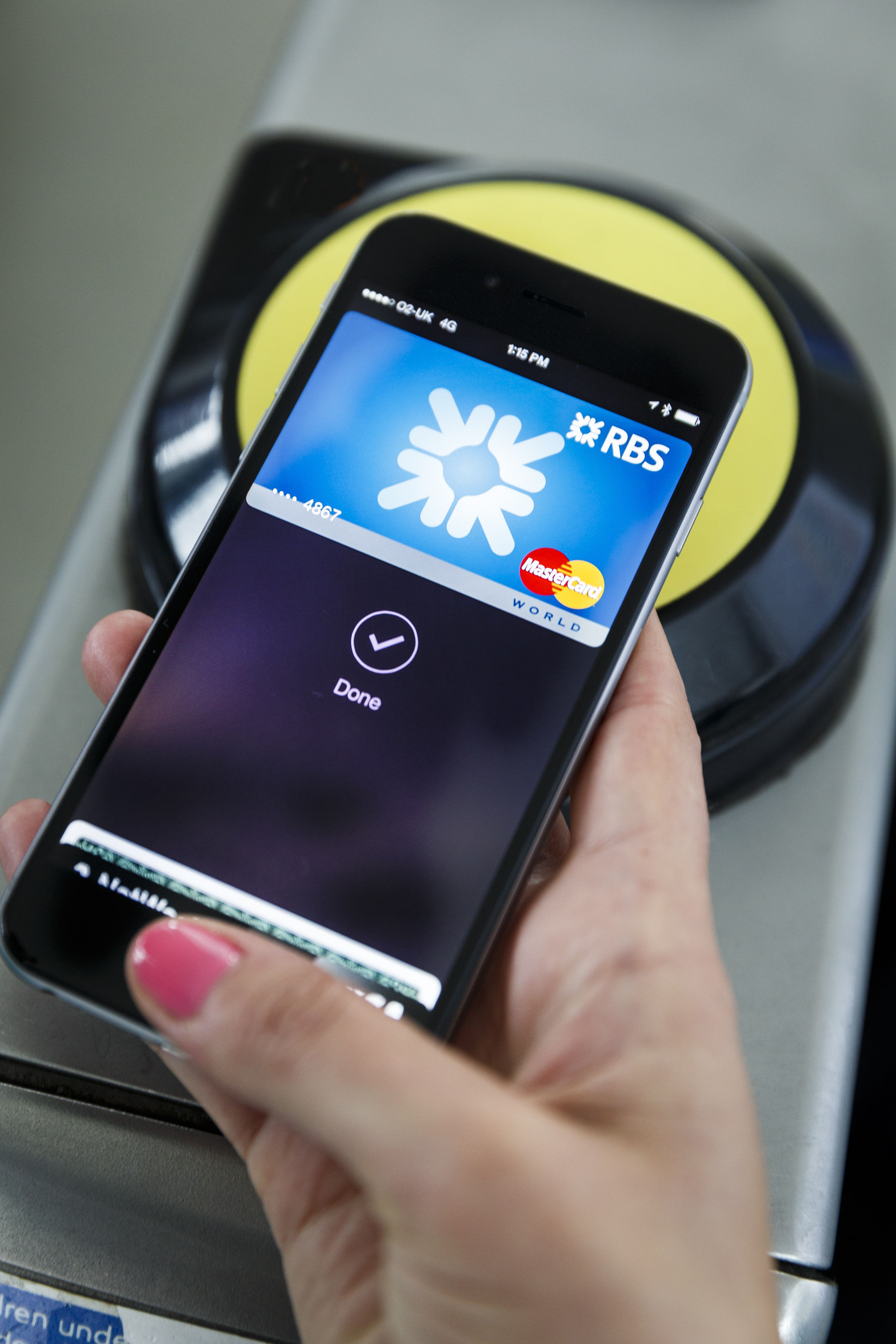 There is no spending limit with Apple Pay - so you can splash out and then simply tap your phone to pay for it all