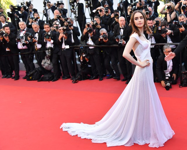 It is claimed 30 journalists were flown to Paris by studio bosses before Emily in Paris - starring Lily Collins - was nominated for awards