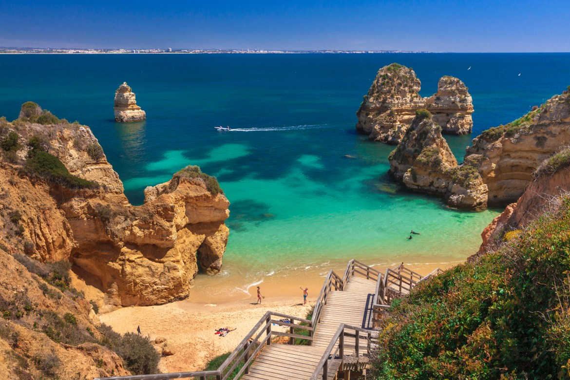 Portugal's Algarve is one of the destinations included in the offer