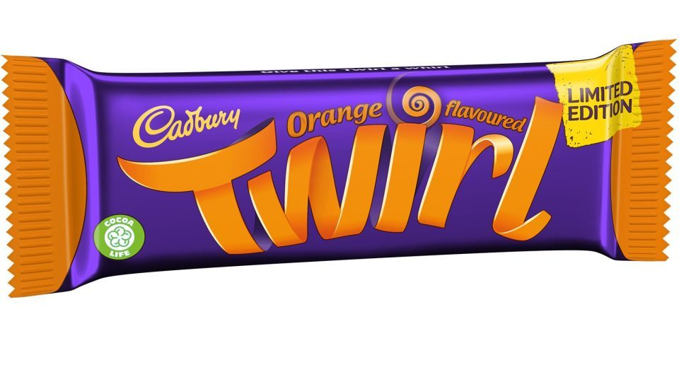 Cadbury is making its Orange Twirl bars a permanent product