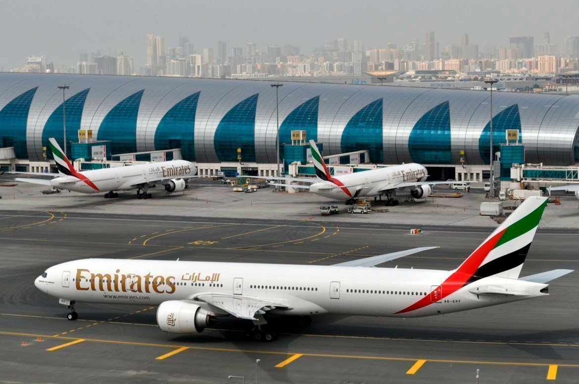 Emirates has restarted flights from the UK to Dubai