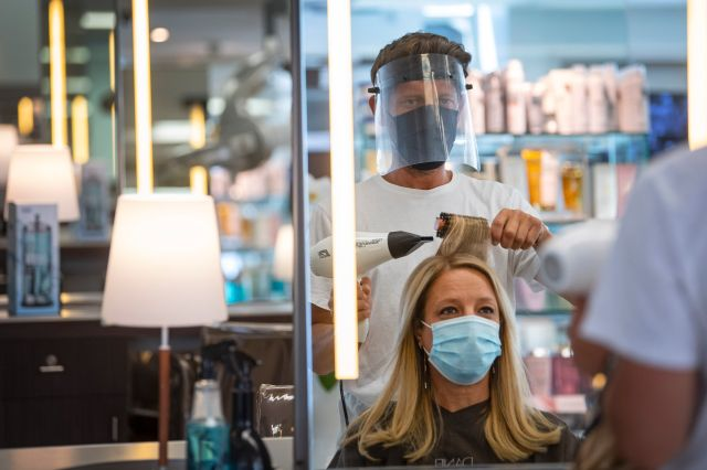 Even before the pandemic, salons were naturally sterile environments