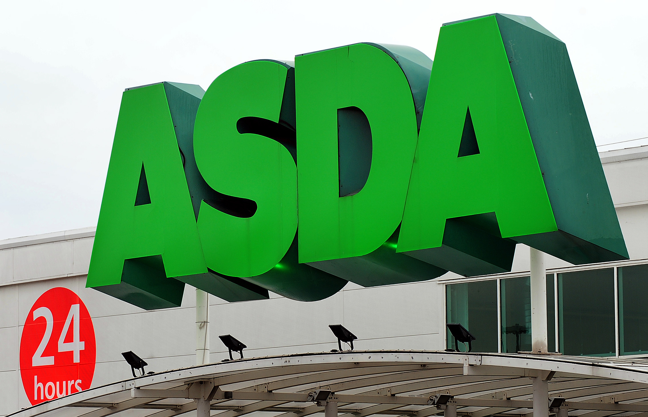 Asda customers had trouble accessing the supermarket's website and app