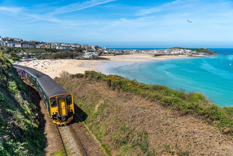 Enjoy beautiful scenery on the UK's best railway journeys