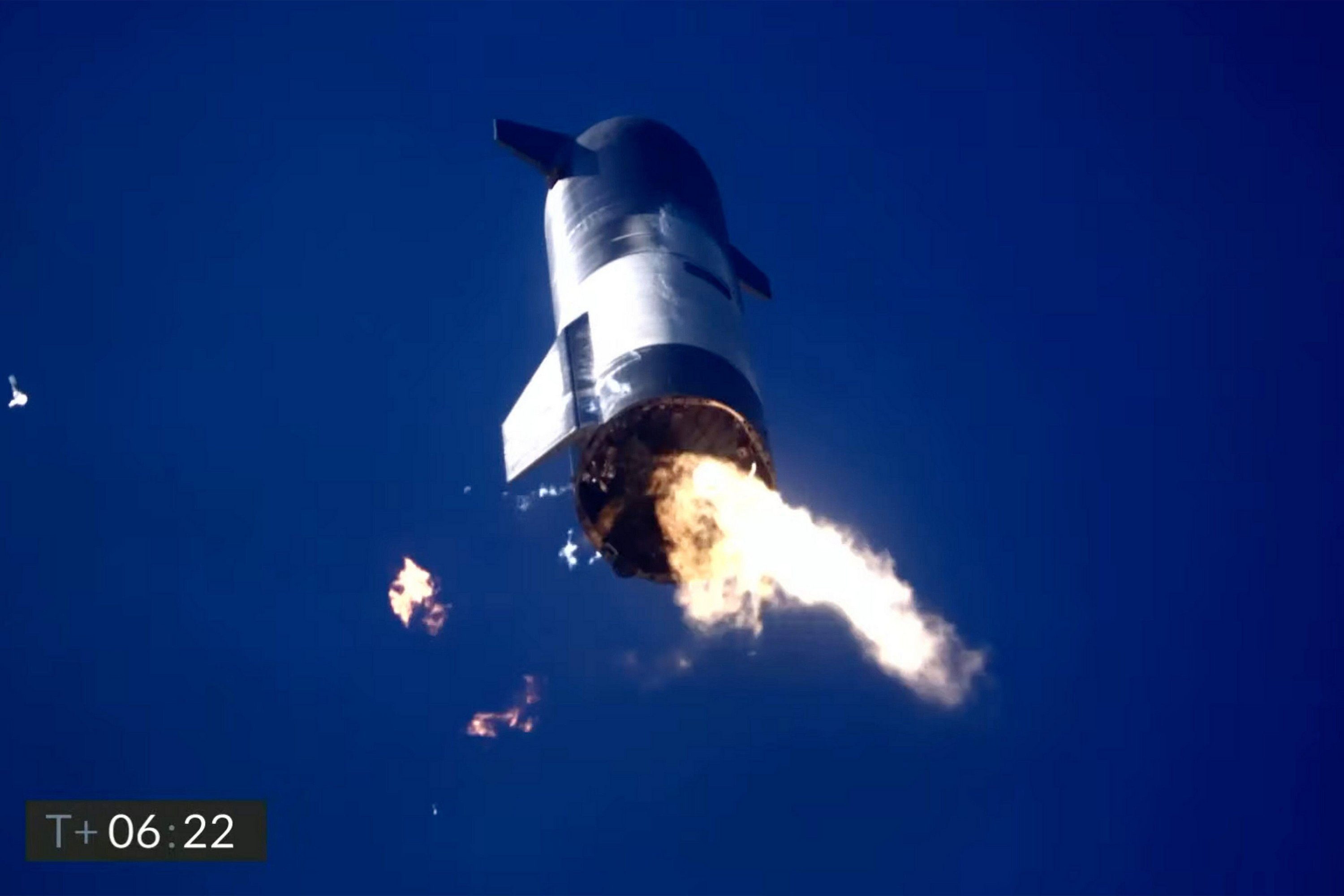 Previous Starship prototypes have exploded on landing