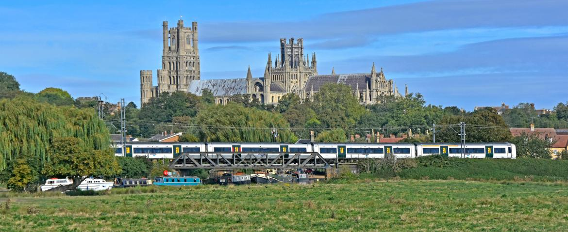 Once at Ely station you're a ten-minute walk from its gargantuan cathedral