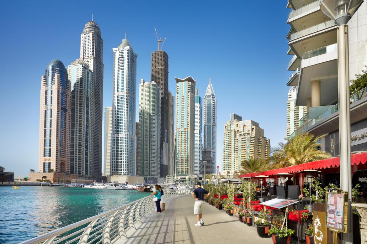 Holidays cannot go ahead to Dubai however, with flights primarily for returning UAE residents