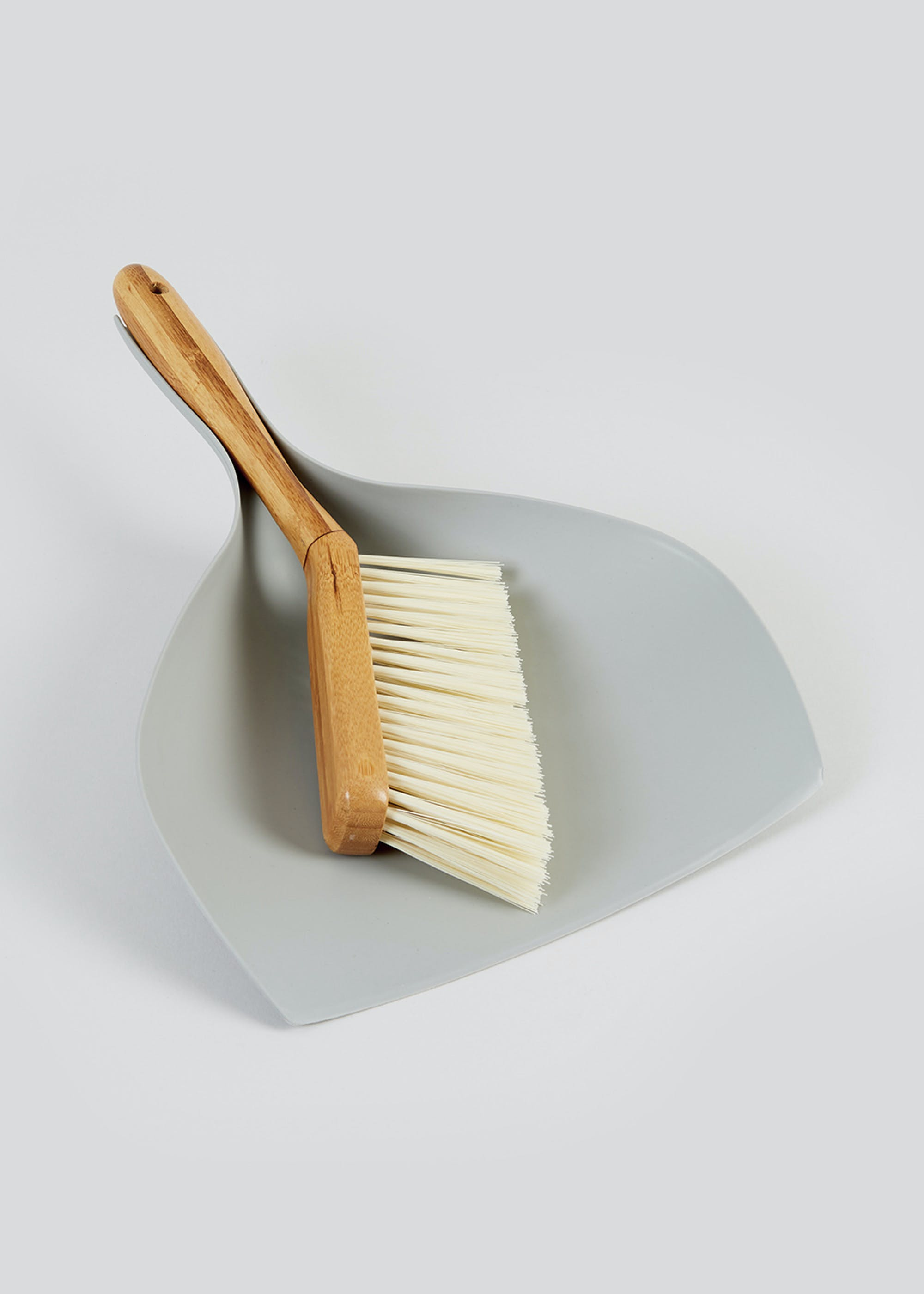 Why spend £7 on this wooden dustpan and brush set from Matalan...