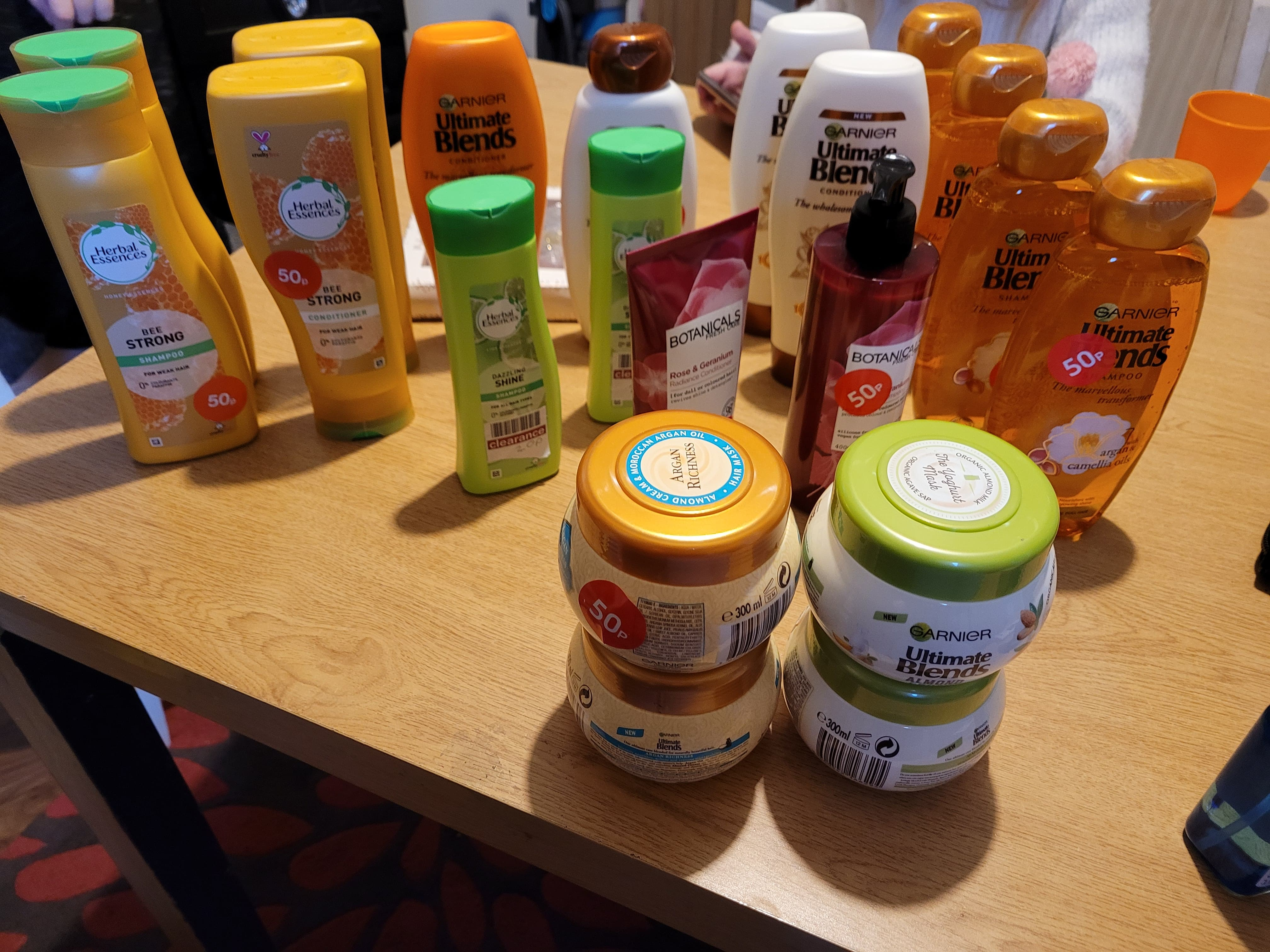 The happy shopper was made up with her haul at her local Boots store