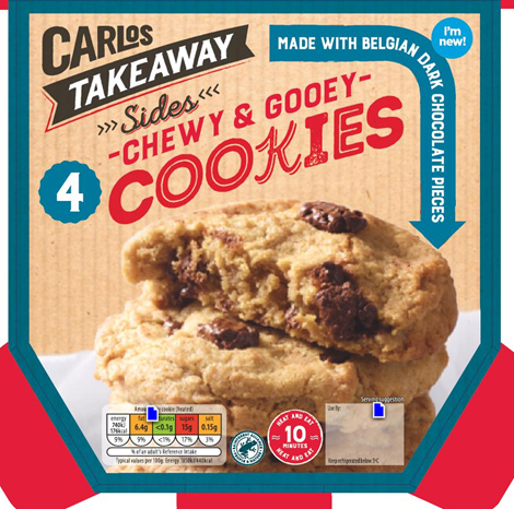...when you can get Aldi's new Carlos Takeaway Chewy and Gooey Cookies for just £1.49