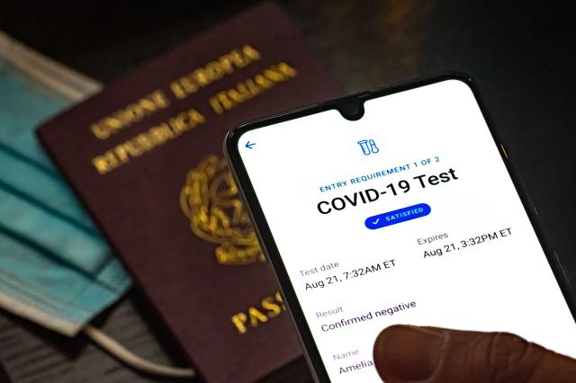 Vaccine passports could be on the cards