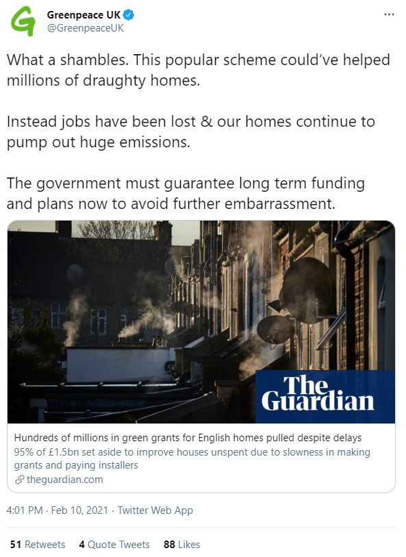 "Greenpeace blasted the cut as ""a shambles"""