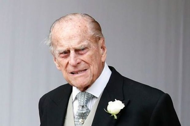 Prince Philip will remain in hospital over the weekend and isn't allowed any visitors