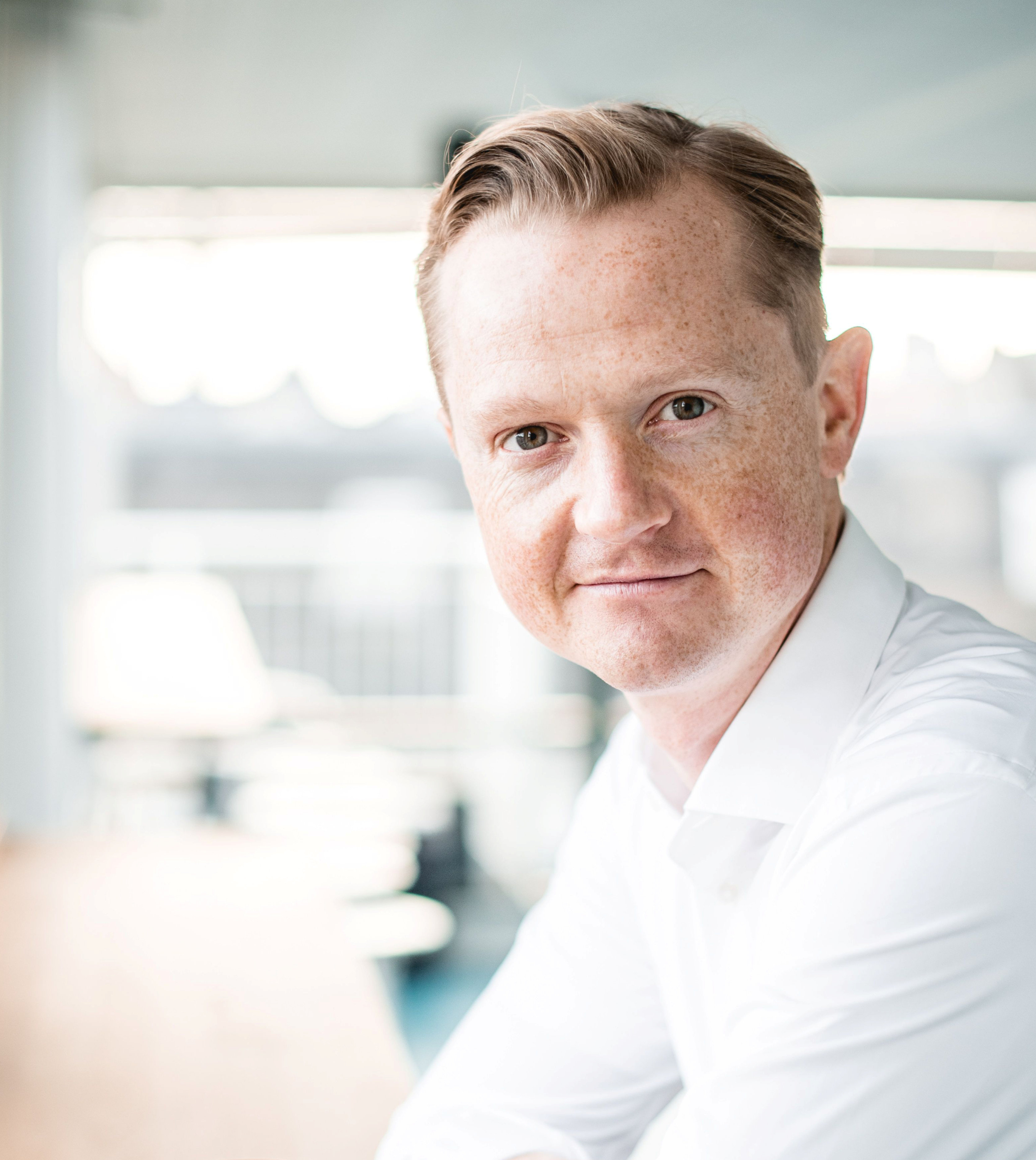 Peter Mühlmann, founder and CEO of Trustpilot