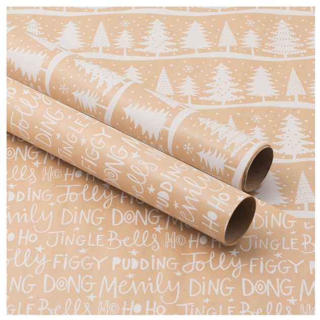 Save £6.99 on this Christmas wrapping paper from WHSmith