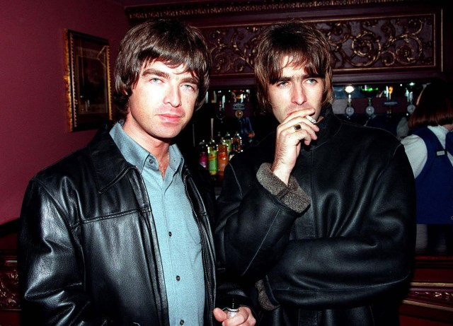 Liam and Noel Gallagher were embroiled in a feud with Robbie for decades
