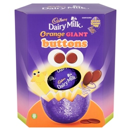 Cadbury's Chocolate Orange Egg is sure to be a crowd pleaser