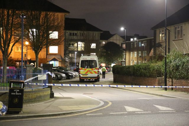 Met Police are investigating the stabbing of a 19-year-old in Stratford, London
