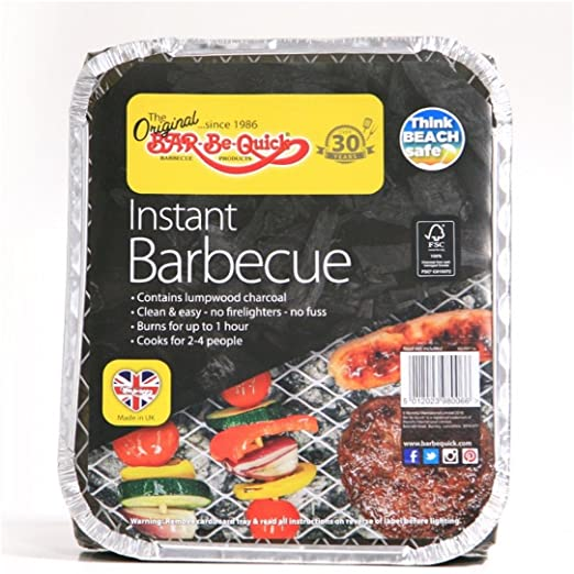 Hassle free barbecueing