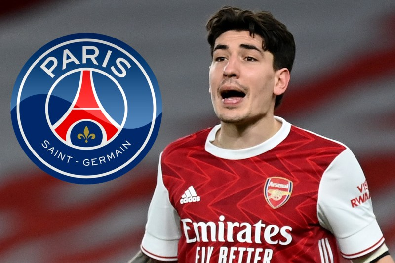 PSG 'set to make transfer swoop for Arsenal star Hector Bellerin as Gunners eye Aarons or Lamptey as replacement'