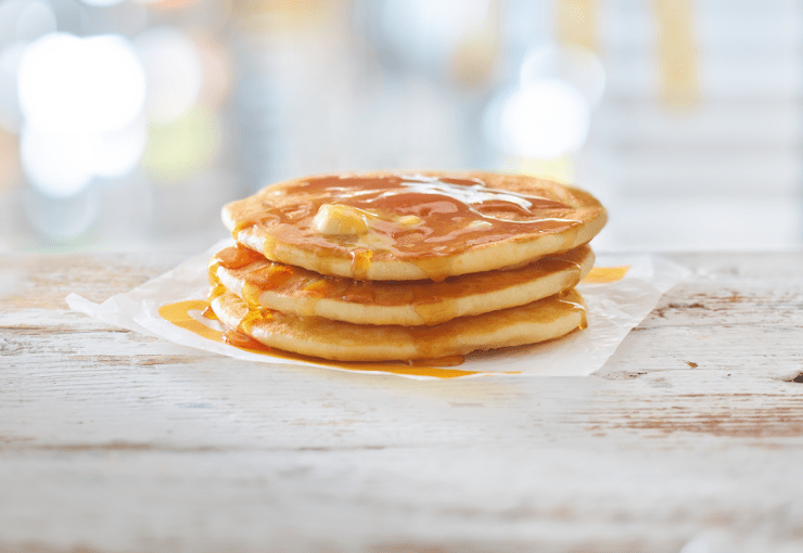 McDonald's has slashed the price of pancakes from £2.29 to 99p