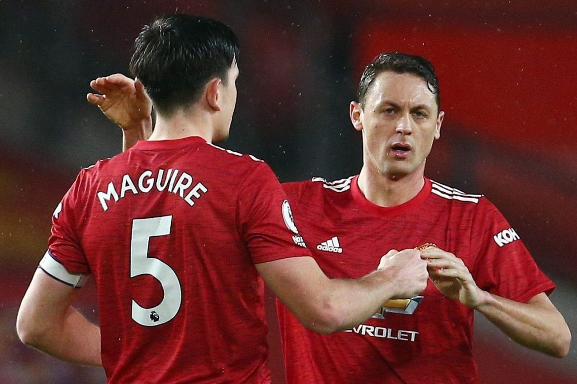 Image result for Harry Maguire fined by Nemanja Matic