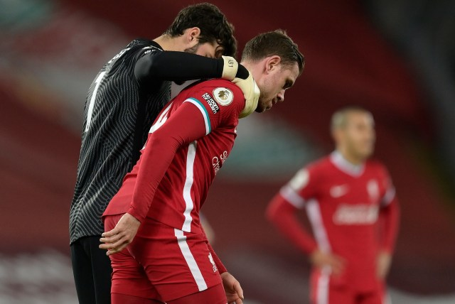 Liverpool's title defence has collapsed with a desperate run at Anfield