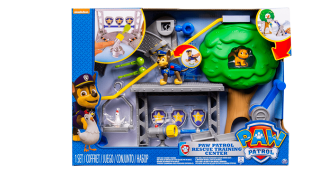Paw Patrol's playset doesn't need batteries
