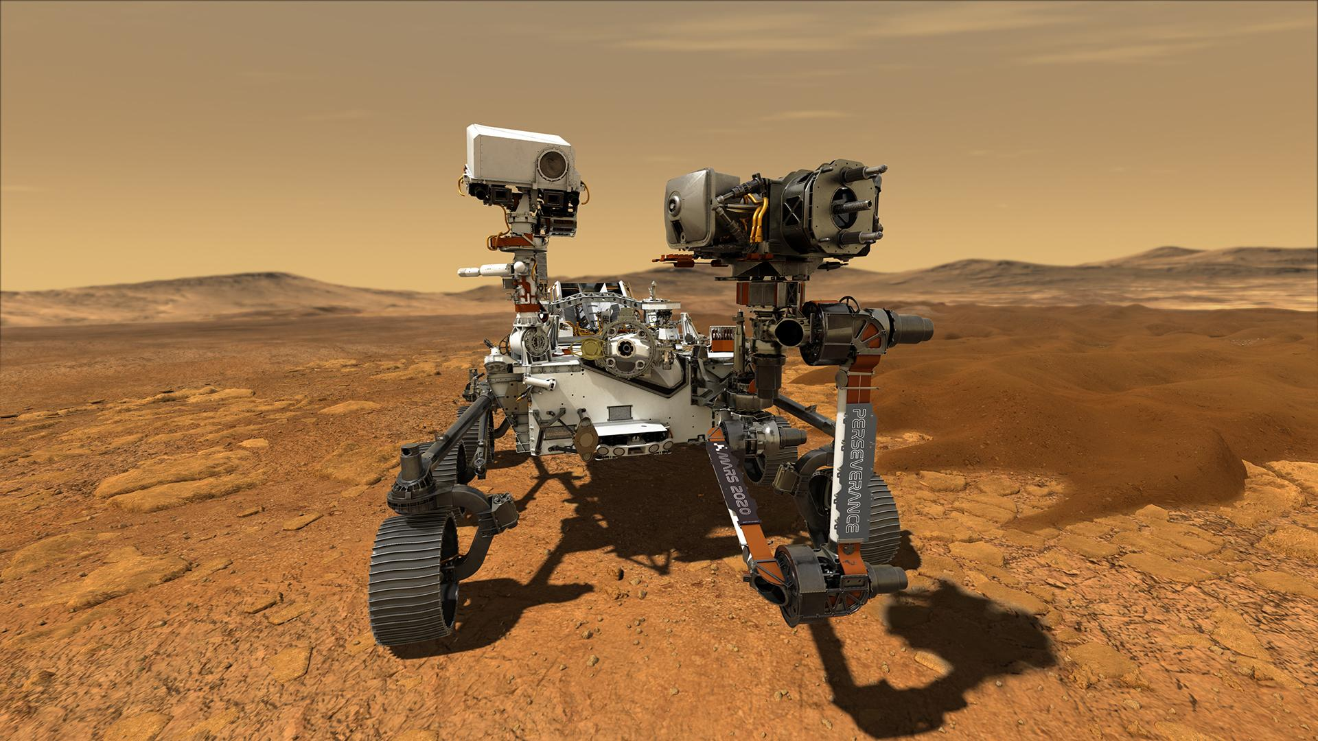 Nasa's Perseverance rover is scheduled to touch down on the Red Planet on Thursday