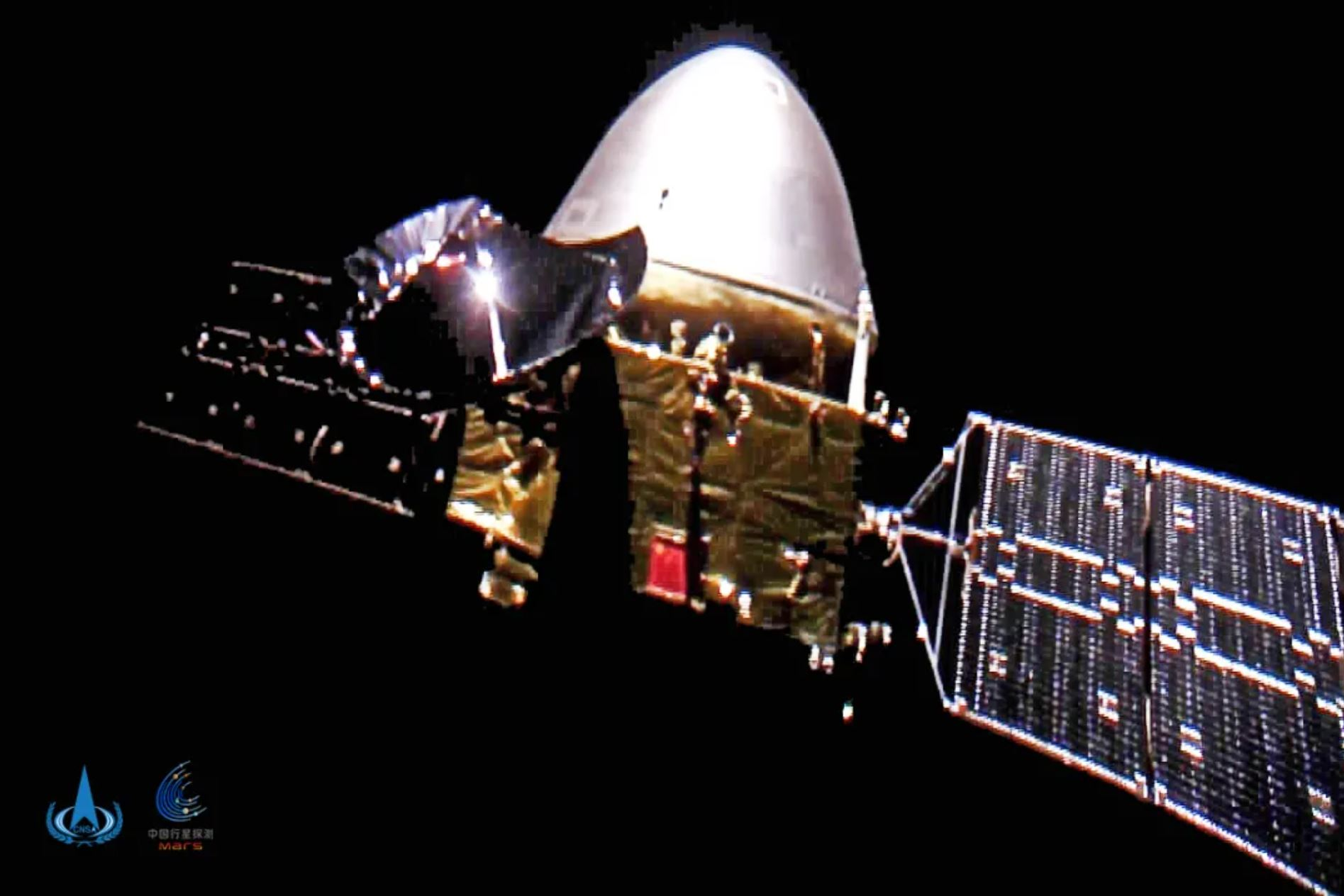 Tianwen-1 reached the Red Planet on Wednesday