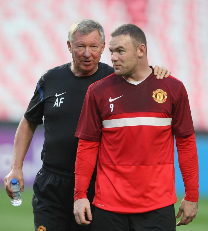 Fergie also said that he  couldn't stop Rooney from having affairs