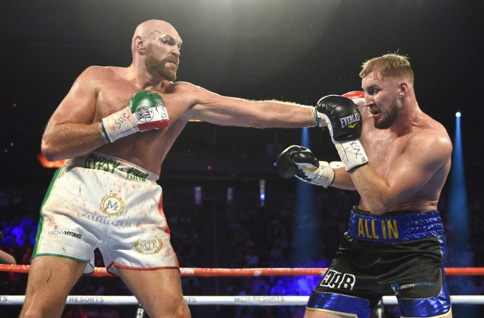Tyson Fury's old opponent Otto Wallin is one possibility