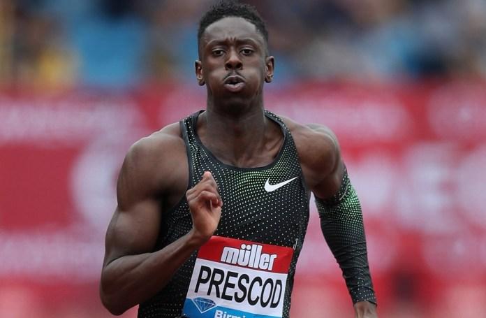 Prescod is Britain's fourth fastest male sprinter