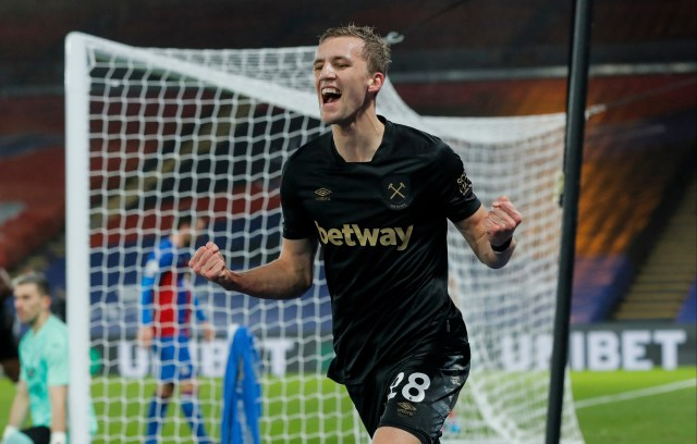 Tomas Soucek has developed into one of the Prem's best goalscoring midfielders but West Ham say Man Utd and Co have no chance of signing him