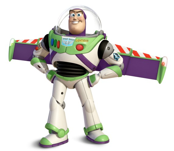 Snoop dressed up as Toy Story's Buzz Lightyear
