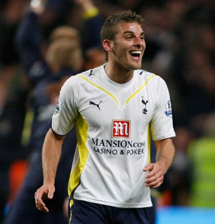 In 2008 Bentley signed for Spurs for £15m