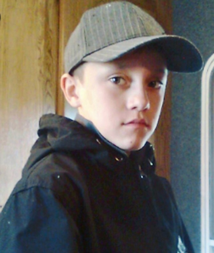 Gregory as young Ryan in series one