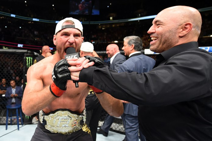 UFC commentator Joe Rogan reckons retirement could be on the cards for Stipe Miocic