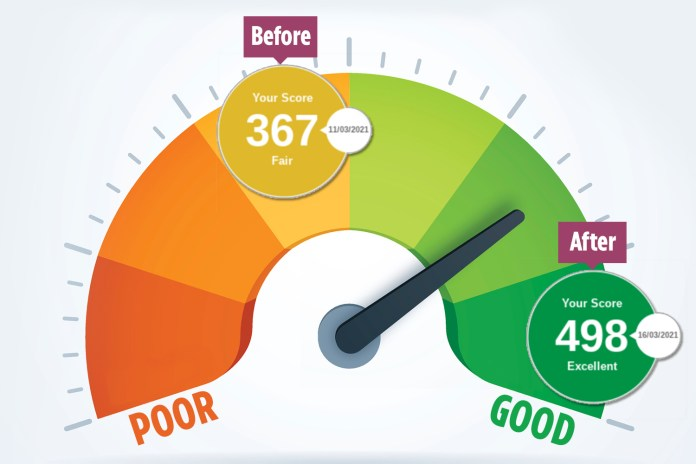 I boosted my credit score by 131 points  in 30 seconds