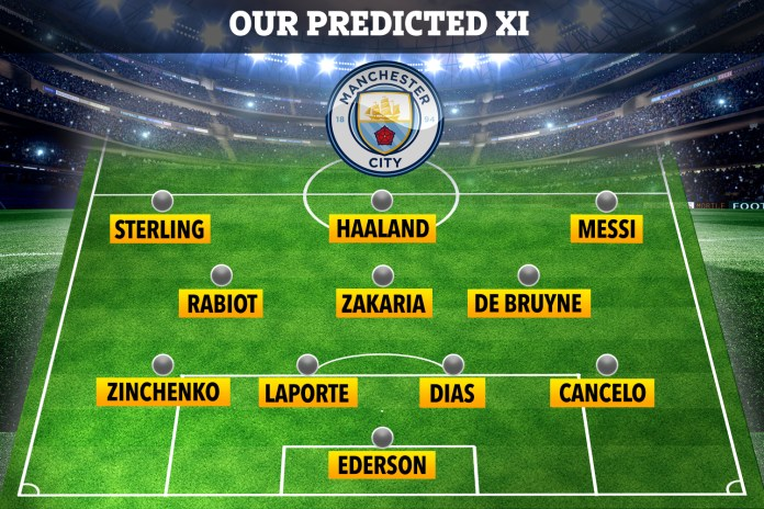 Pep Guardiola will have an embarrassment of riches to choose from